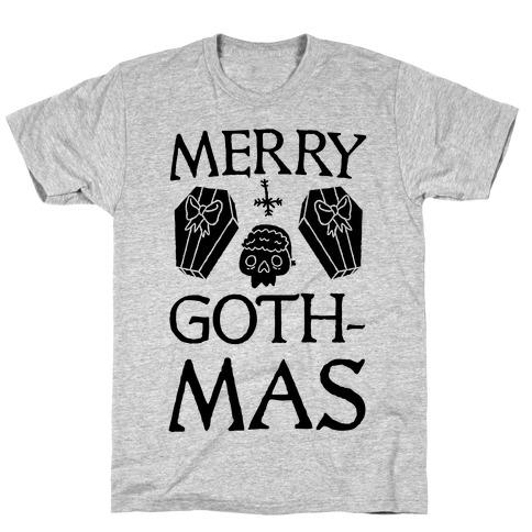 Merry Gothmas Mens T-Shirt