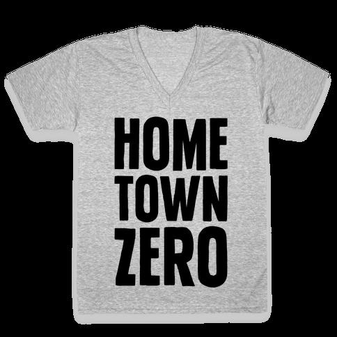 Hometown Zero V-Neck Tee Shirt