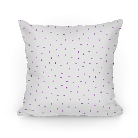 Purple Watercolor Polka Dots