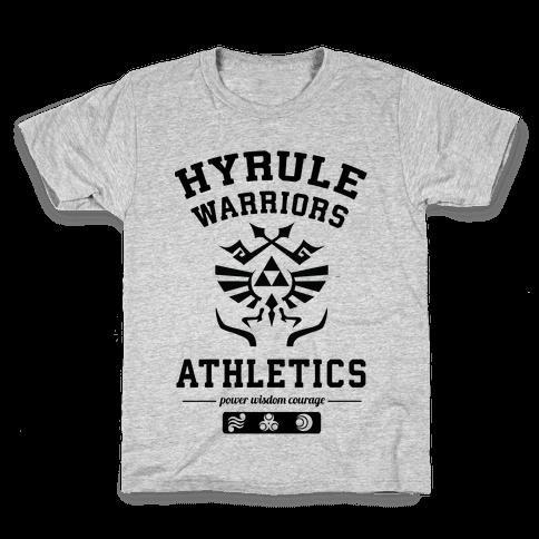 Hyrule Warriors Athletics Kids T-Shirt