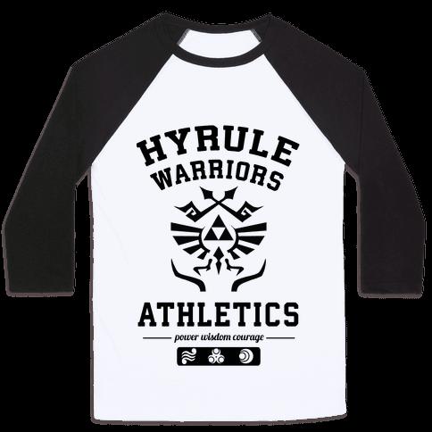 Hyrule Warriors Athletics Baseball Tee