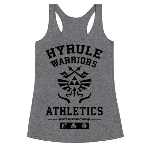 Hyrule Warriors Athletics Racerback Tank Top
