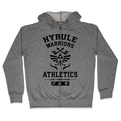 Hyrule Warriors Athletics Zip Hoodie