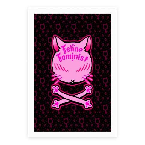 Feline Feminist Poster