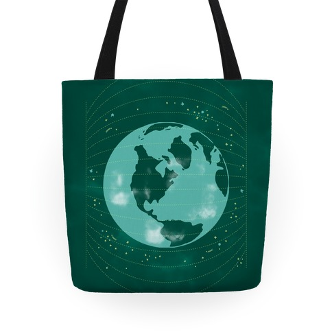 Stars and Earth Tote