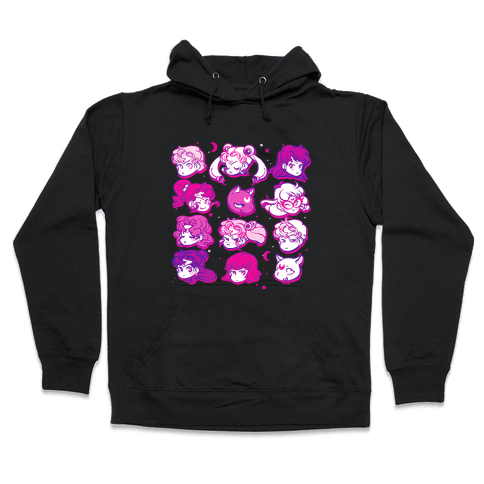 Moon Crew Hooded Sweatshirt