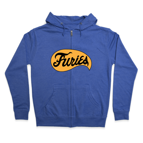 The Baseball Furies Zip Hoodie
