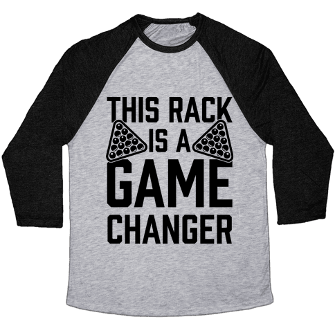 This Rack Is A Game Changer Baseball Tee