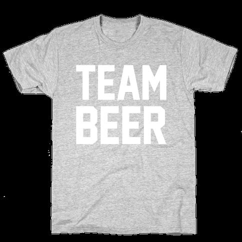 Team Beer Mens T-Shirt
