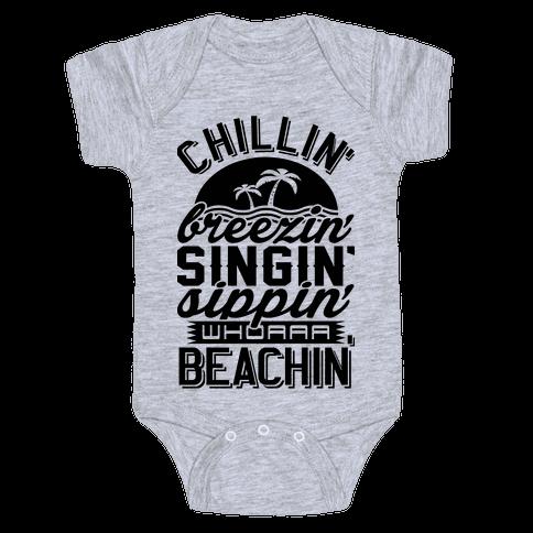 Beachin' Baby Onesy