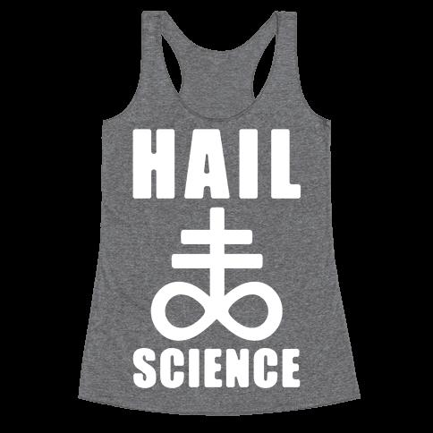 Hail Science Racerback Tank Top