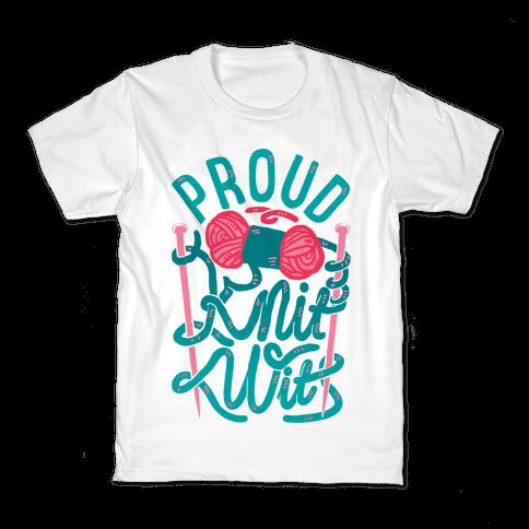 Proud Knit Wit Kids T-Shirt