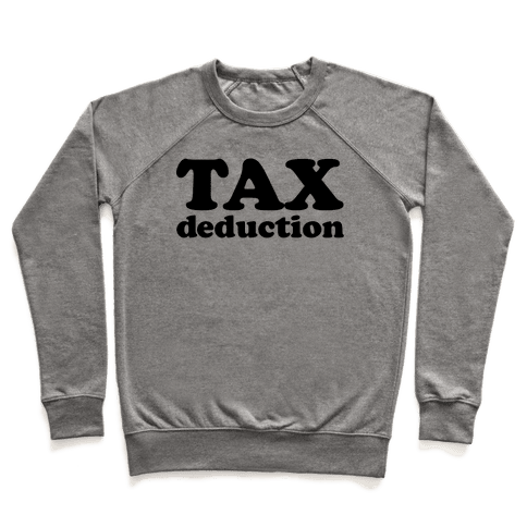 Tax Deduction Pullover