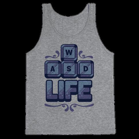 WASD Life Tank Top