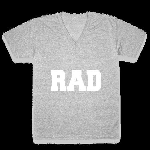 RAD V-Neck Tee Shirt