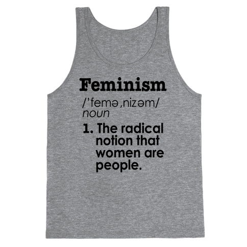 Feminism Definition Tank Top