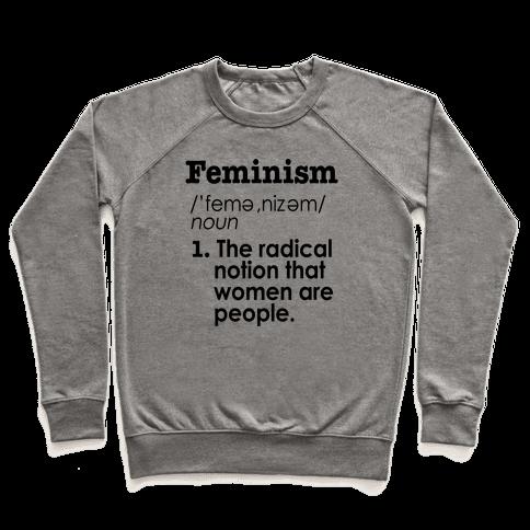 Feminism Definition Pullover