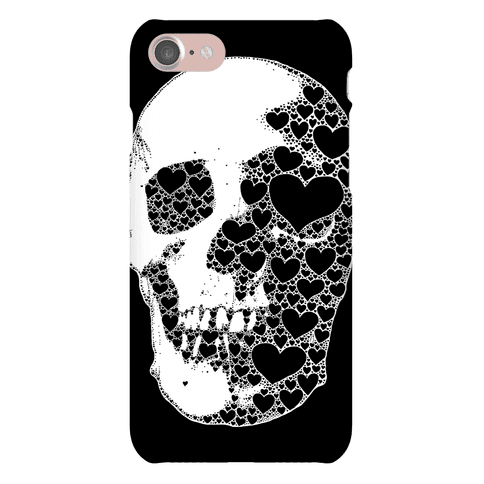 Heart Skull Phone Case