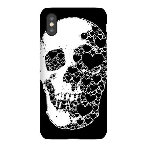 Heart Skull Phone Case