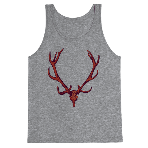 Buck Off Antlers Tank Top