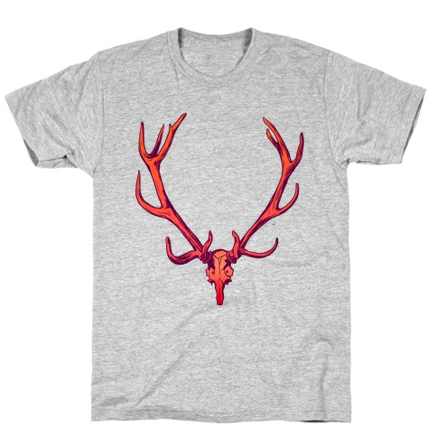 Buck Off Antlers Mens T-Shirt