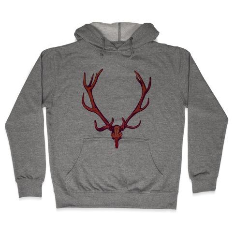 Buck Off Antlers Hooded Sweatshirt