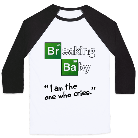 Breaking Baby Baseball Tee