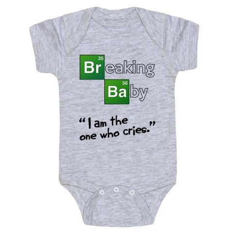 Breaking Baby Baby Onesy