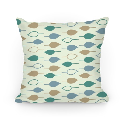 Leaf Pattern Pillow Pillow