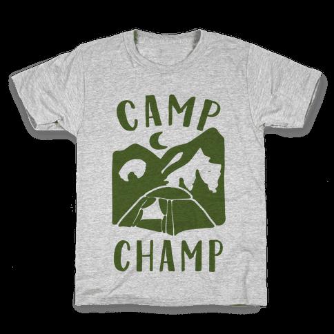 Camp Champ Kids T-Shirt