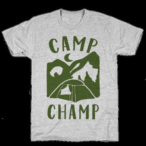 Camp Champ Mens T-Shirt