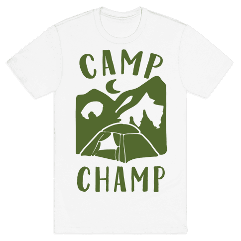 Camp Champ Mens T-Shirt