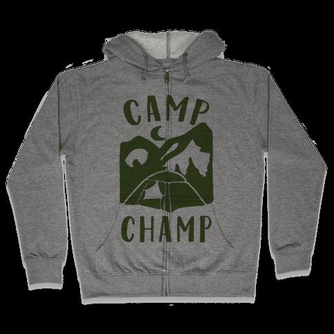 Camp Champ Zip Hoodie
