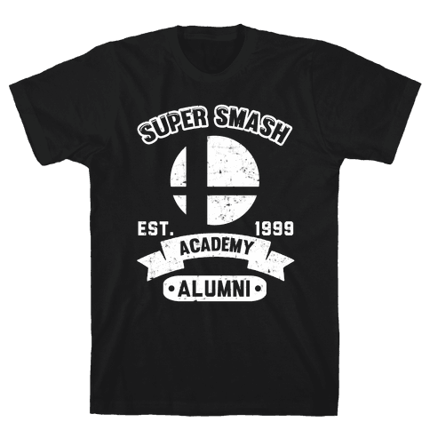 Super Smash Academy Alumni Mens T-Shirt