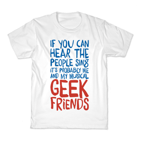 Musical Geeks Kids T-Shirt