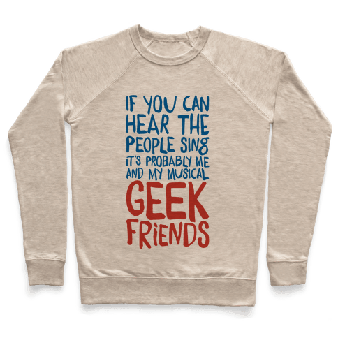 Musical Geeks Pullover