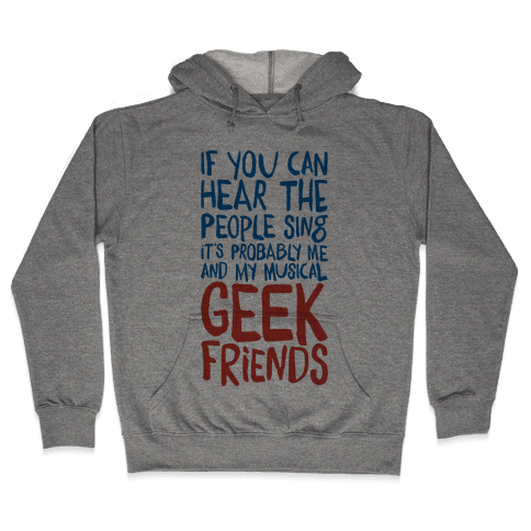 Musical Geeks Hooded Sweatshirt