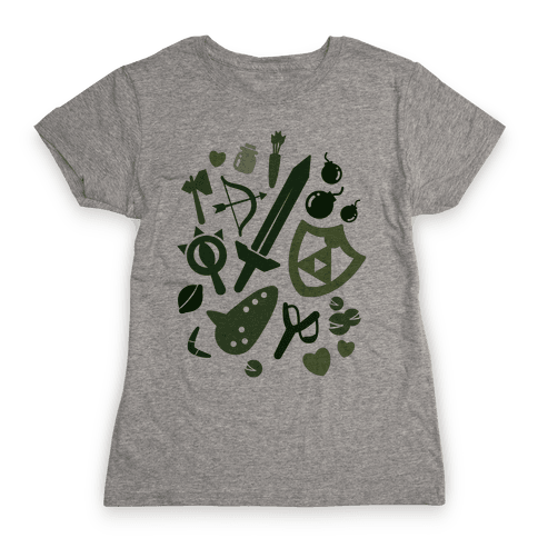 Link's Inventory Womens T-Shirt