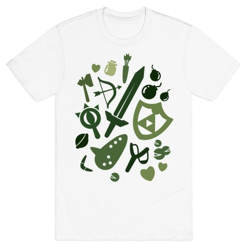 Link's Inventory Mens T-Shirt