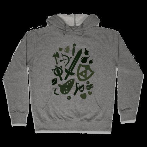 Link's Inventory Hooded Sweatshirt