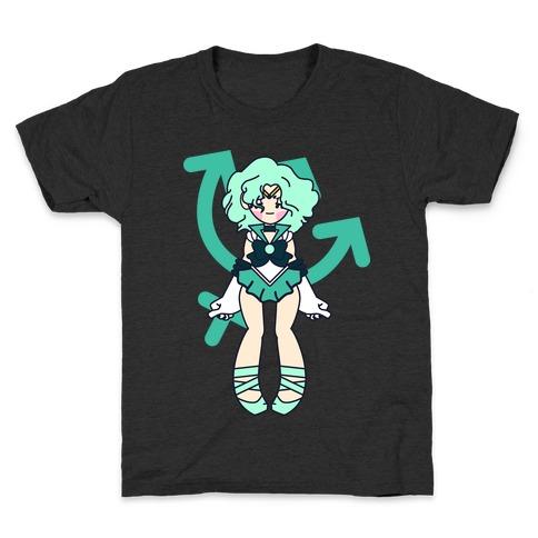 Pretty Guardian: Neptune Kids T-Shirt