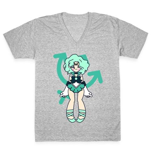 Pretty Guardian: Neptune V-Neck Tee Shirt