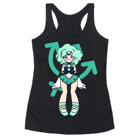 Pretty Guardian: Neptune Racerback Tank Top