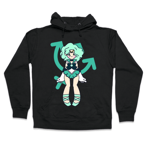 Pretty Guardian: Neptune Hooded Sweatshirt