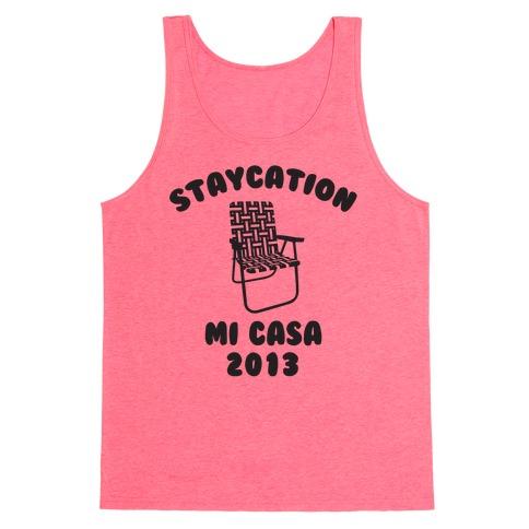 Staycation Mi Casa 2013 Tank Top