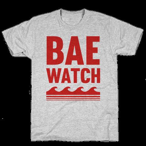 Bae Watch Mens T-Shirt