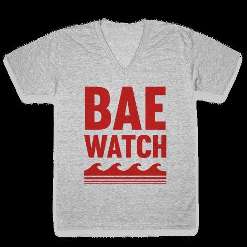 Bae Watch V-Neck Tee Shirt