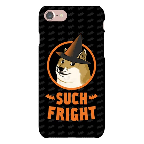 Doge: Such Fright! Phone Case