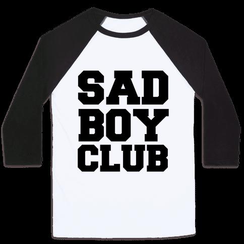 Sad Boy Club Baseball Tee