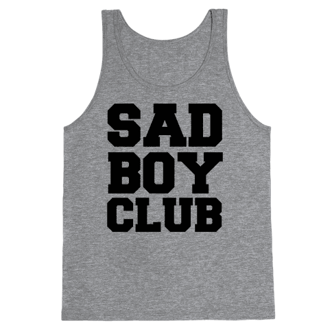 Sad Boy Club Tank Top